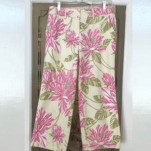 Tommy Hilfiger Stretch Floral Capri Size 8